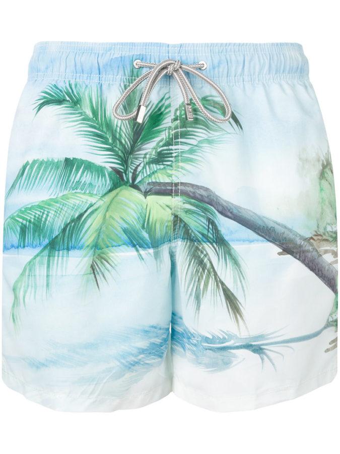 33b12bb4bf Mc2 Saint Barth – Barbados swim shorts – men –  Polyamide/Polyester/Spandex/Elastane – XXL
