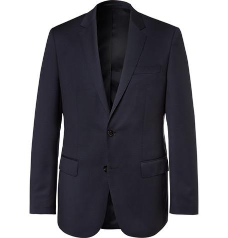 511e69ca1 Hugo Boss – Blue Hayes Slim-fit Super 120s Virgin Wool Suit Jacket – Navy