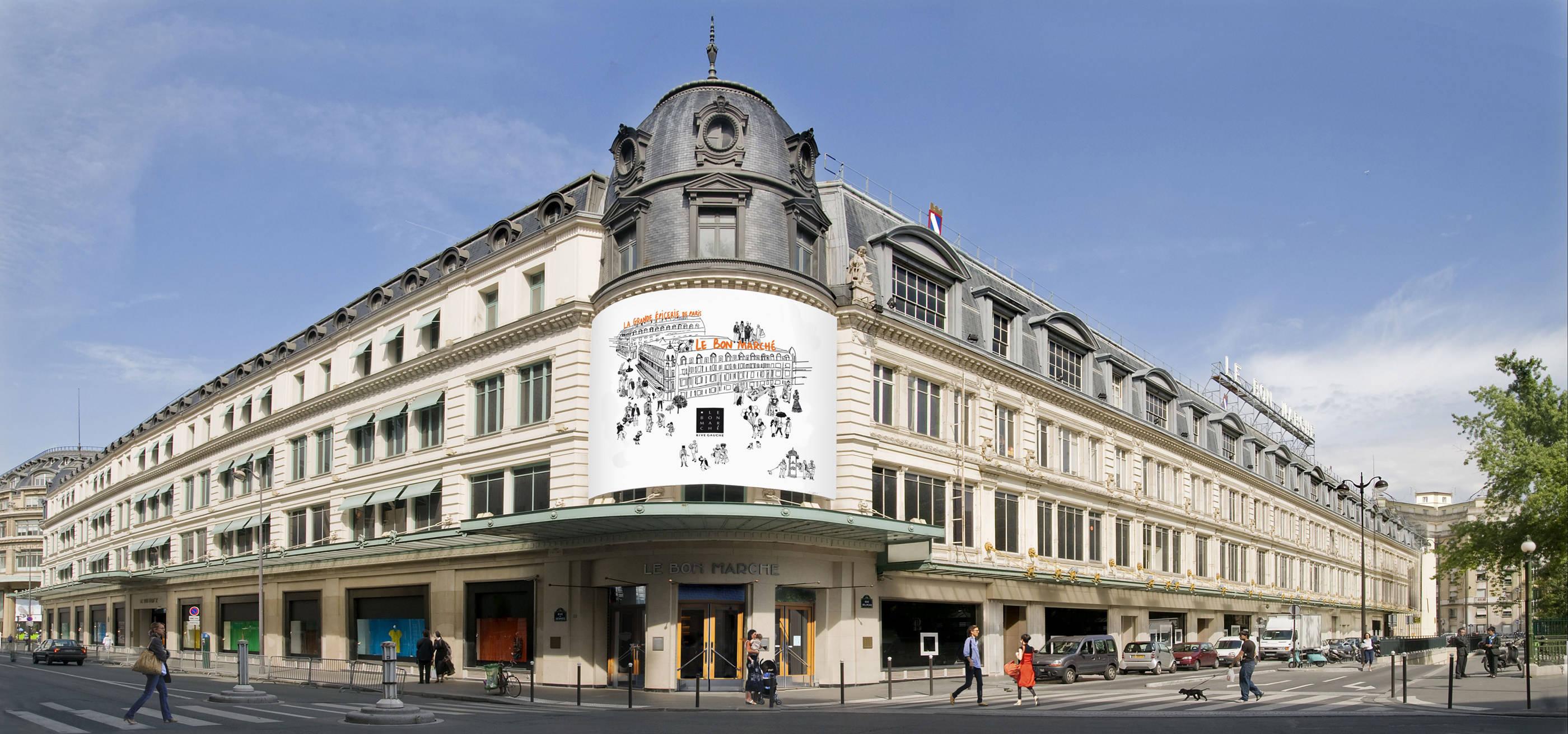 Grande epicerie de paris bon marche 5 secret parisien for Booking secret de paris